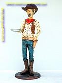 Cowboy butler, h: 1,74 meter