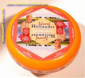 Noordhollander Dutch Gouda Cheese Wheel RED