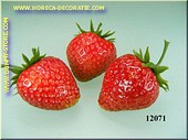 Strawberry, 3 pcs