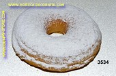 Donut white wit sugarpowder - dummy