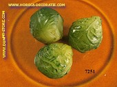 Brussels sprouts, 3 pcs - dummy