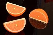 Apfelsine 1/4, 3 stück - Attrappe