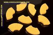 Ananas stücke, Attrappe, 8 stück