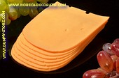 Cheese slices 7 Gouda - dummy 18x11,5x1,5 cm