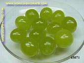 Groene druiven (los), 12 stuks - namaak