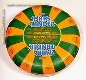 Maaslander Dutch Gouda Cheese Wheel GREEN