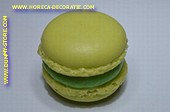 Macaron H, 3,5x3 cm - namaak