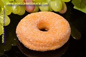 Donut mit Zucker- Attrappe