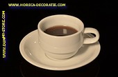 Kop zwarte Koffie - Attrappe