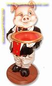 Butler Schweinchen, höhe: 0,96 meter