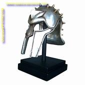 Helm Romeinse gladiator, hoogte: 0,40 meter