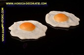 Fried Eggs, single, 2 pcs