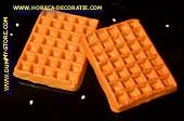 Belgische wafel, 2 stuks - 120 x 90 mm - brooddummy