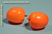 Aprikosen, 2 Stück - Attrappe