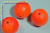 Sinaasappels, 3 stuks - Ø 75 mm - Fruitdummy