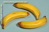 Bananen, klein, 3 stuks - 35x150 mm - Fruitdummy