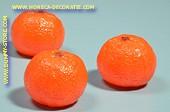 Mandarinen, 3 Stück - Attrappe