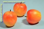 Appels, groot, 3 stuks (namaak)