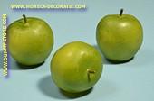 Grüne Äpfel, 3 Stück - Attrappe