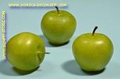 Grüne Äpfel, medium, 3 Stück - Attrappe