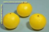 Grapefruit, 3 Stück - Attrappe