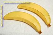 Bananen, XXXL, 2 stuks (decoratie)