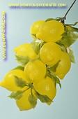 Zitronen 12 Stück am Strang - Attrappe