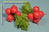 Red Radishes, 2 bunches 6 pcs. - dummy