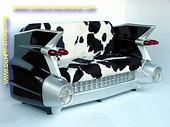 Cadillac Car Sofa, Cow design