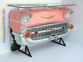 Chevrolet wand (bar) tafel, roze