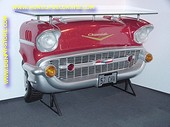Chevrolet Car Bar, red