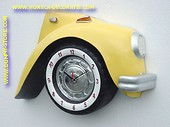 Volkswagen Car Clock