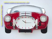 Red Cobra Clock