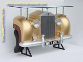Rolls Royce wand (bar) tafel, goud