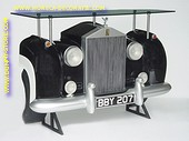Rolls Royce Car Bar, black