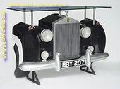 Rolls Royce wand (bar) tafel, zwart