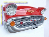 Chevrolet Wall Decor, red