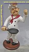 Panecake chef, h: 65 cm
