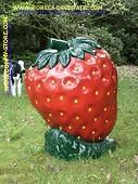 Erdbeer, gross DEKO
