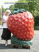 Erdbeer, XXXL DEKO