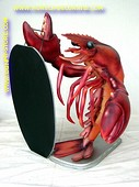 Lobster with chalkboard, h: 0,96 meter