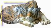 Tigerin, Br: 1,45 mtr, L: 0,70 mtr