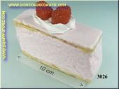 Frambozen taartje - namaak