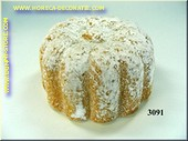 Poedersuiker cake - Attrappe