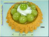 Cake, druiven - namaak - dummy