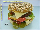 Cheeseburger, dubbel - dummy