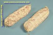 Salami, wit, 2 stuks (W1) - 50x180 mm - namaak