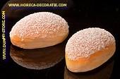 Suikerbroodje 2 st. LxBxH: 95x60xz45 mm dummy