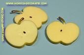 Appel, schijven, 3 stuks (decoratie)