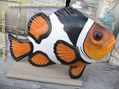 Clownsfish, lengte 2 meter